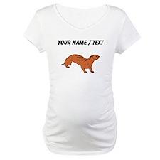 Custom Brown Otter Shirt