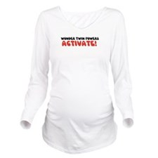 Unique Bucket Long Sleeve Maternity T-Shirt