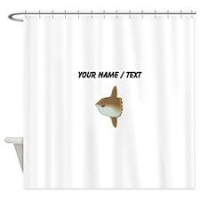 Custom Moonfish Shower Curtain