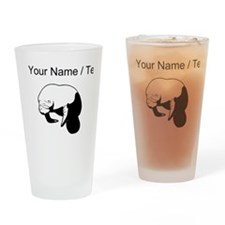 Custom Manatee Drinking Glass