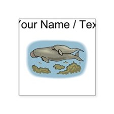 Custom Manatee And Calf Sticker