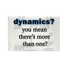 Dynamics? Rectangle Magnet (100 pack)