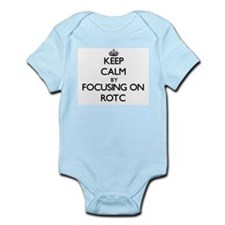 Keep Calm by focusing on Rotc Body Suit
