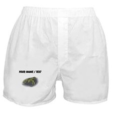 Custom Green Lobster Boxer Shorts