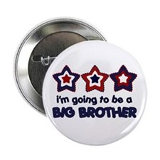 4th of july big brother Button