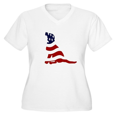 Patriot Lab - Women's Plus Size V-Neck T-Shirt