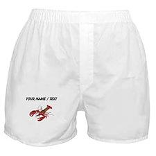 Custom Red Lobster Boxer Shorts