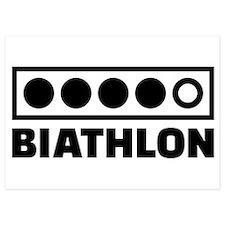 Biathlon target Invitations