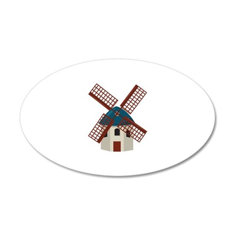 Windmill Wall Decal
