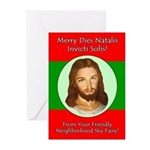 Invicti Solis! Greeting Cards (Pk of 10)
