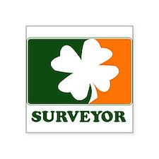 """Unique Surveyors Square Sticker 3"""" x 3"""""""