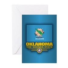 Oklahoma (v15) Greeting Cards
