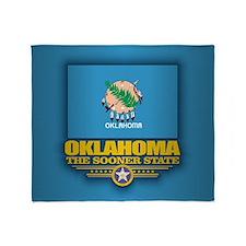 Oklahoma (v15) Throw Blanket
