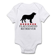 Flat Coated Retriever (red st Infant Bodysuit