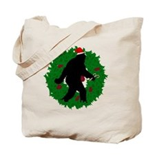 Gone Christmas Squatchin' Tote Bag