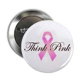"Think Pink 2.25"" Button (100 pack)"