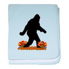 Gone Thanksgiving Squatchin' baby blanket