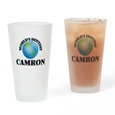 World's Hottest Camron Drinking Glass