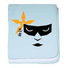 Ninja Mask baby blanket