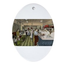 Felix's Oval Ornament