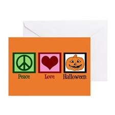 Halloween Orange Greeting Cards (Pk of 10)