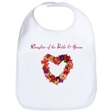 Daughter of the Bride & Groom Bib