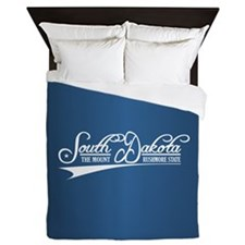 South Dakota State of Mine Queen Duvet