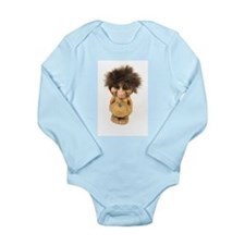 Cute Troll Long Sleeve Infant Bodysuit