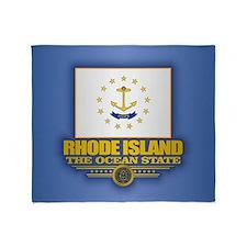 Rhode Island (v15) Throw Blanket