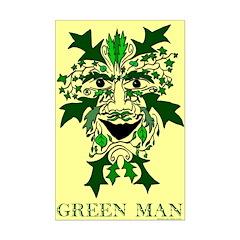 Green Man 11x17 inch poster