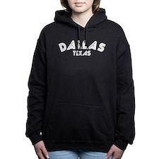 Dallas Texas Women's Hooded Sweatshirt