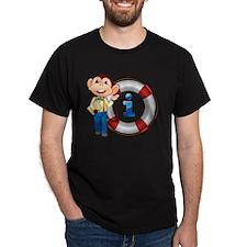 monkey showing float T-Shirt