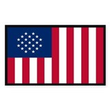 Devisive Flag Rectangle Decal