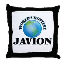 World's Hottest Javion Throw Pillow