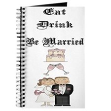 Eat, Drink, Be Married Journal