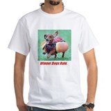 Wiener Dogs Rule White Tee