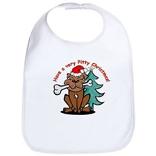 "Holiday ""Pitty"" Bib"