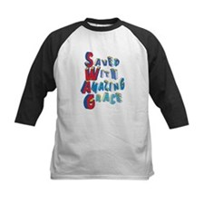 SWAG - saved with amazing grace Baseball Jersey