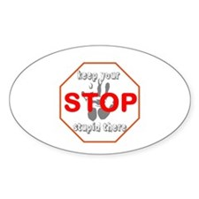 STOP Decal