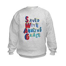 SWAG - saved with amazing grace Sweatshirt