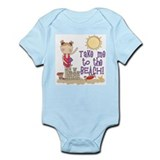 To the Beach (Girl) Infant Bodysuit