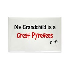 Pyrenees Grandchild Rectangle Magnet