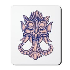 Demon with Tusks Mousepad