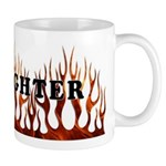 Firefighter Tribal Flames Mug