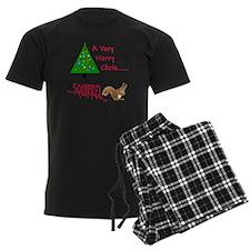 Christmas Squirrel Pajamas