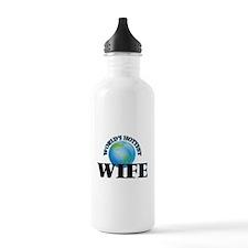 World's Hottest Wife Water Bottle