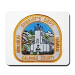 Kalawao County Sheriff Mousepad