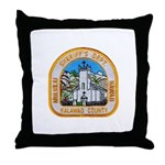 Kalawao County Sheriff Throw Pillow