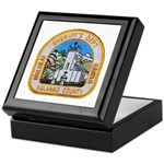 Kalawao County Sheriff Keepsake Box