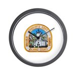 Kalawao County Sheriff Wall Clock